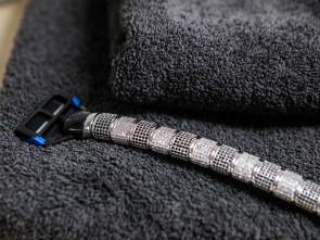 Razor Zirconia Black & White Small Beads