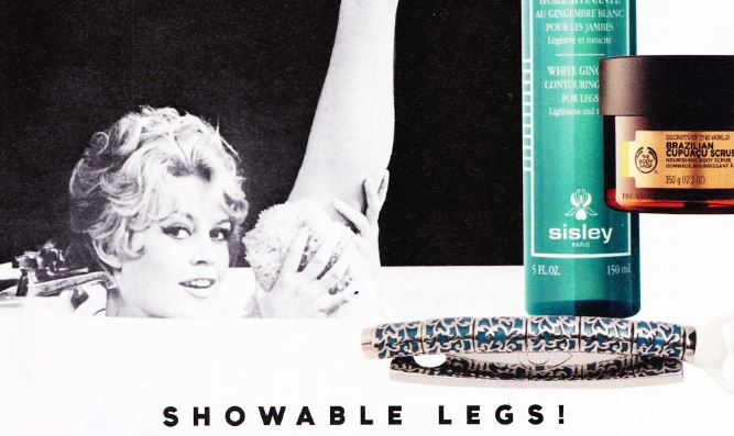 Nouveau: get the nicest shaved legs